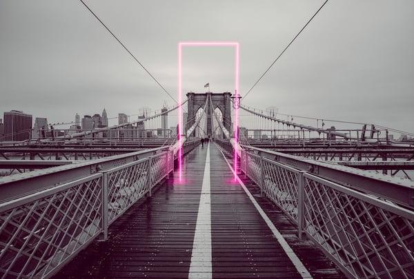 Nyc Brooklyn Bridge Gateway Photography Art | KPBPHOTO