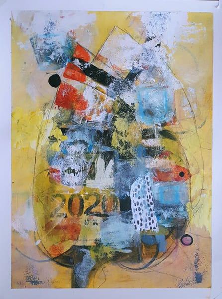 2020 Hindsight | Original Painting Art | Southern Heart Studio, LLC