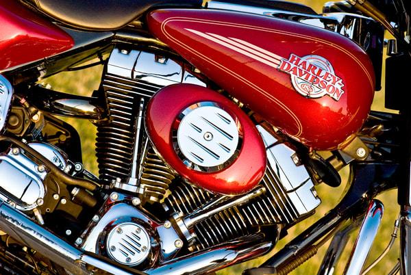 Harley Engine Detail