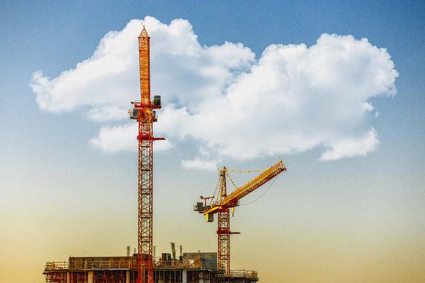 Cranes & Clouds Photography Art | KPBPHOTO