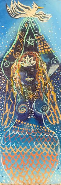 Sea Goddess Of Peace Art | DuggArt