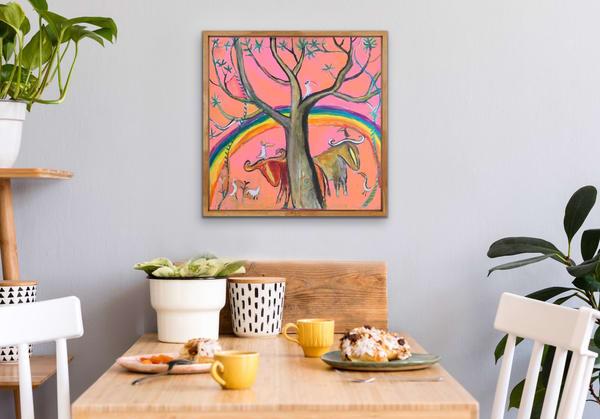 Pink Sunshine Art | DuggArt