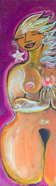 Star Goddess  Art | DuggArt