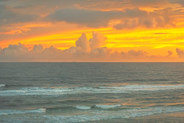 Orange Cloud Ocean | Susan J Photography