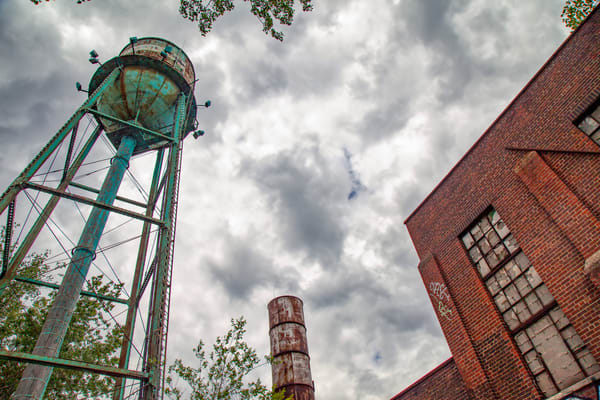 Industrial Water Tower - Prints