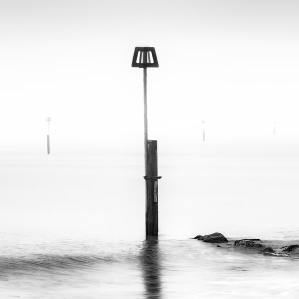 Sea Defence Markers Art | Roy Fraser Photographer