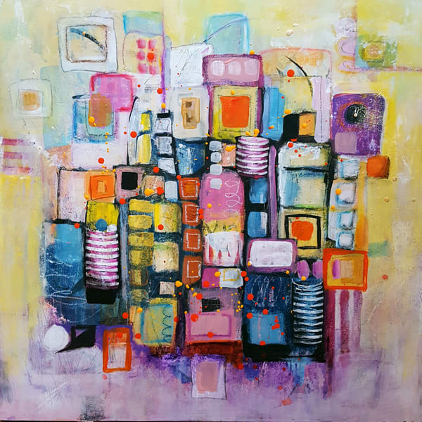 Happiness No. 1 | Original Painting Art | Southern Heart Studio, LLC