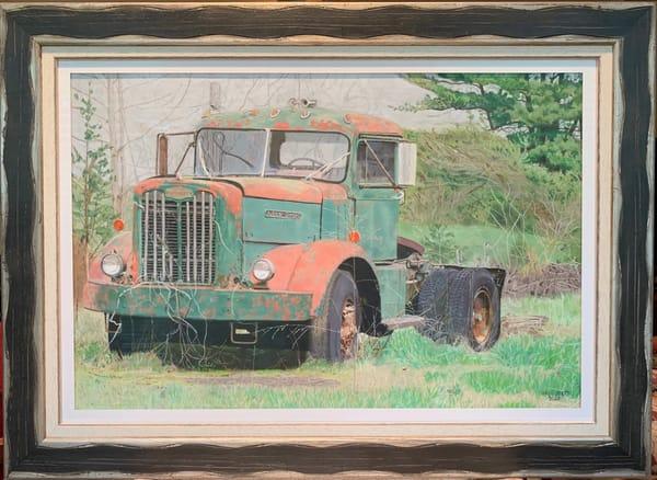 Greg Stett Art Pastels - Truck