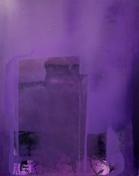 Purple House Art   Ingrid Matthews Art