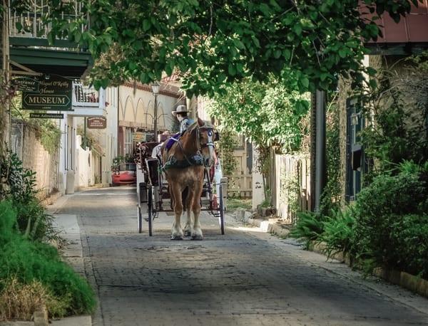 Old City Carriage Photography Art | martinalpert.com