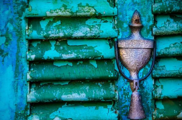 Behind The Green Door Photography Art | martinalpert.com