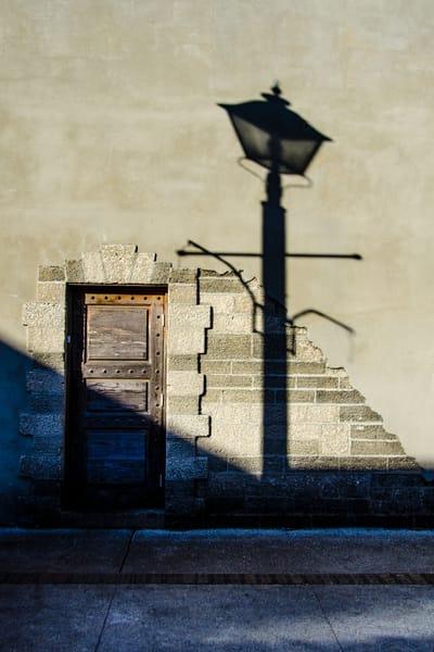 Door And Lamp Post Photography Art | martinalpert.com