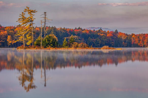 Island Reflection Photography Art | David Lawrence Reade