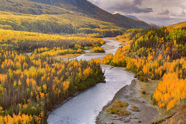 Matanuska River Photography Art | David Lawrence Reade