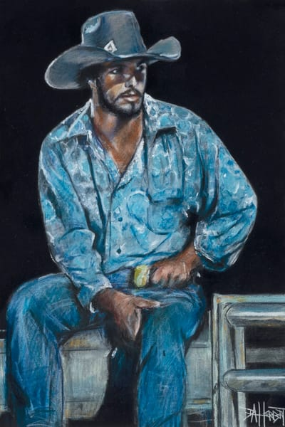 """Rodeo Blues"" Art 