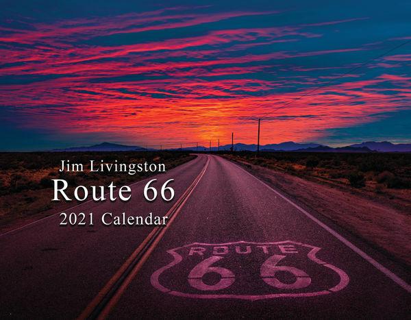 I Am Rt 66 2021 Calendar | Jim Livingston Art