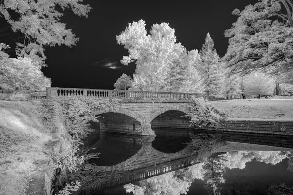 Bridge Over Tranquil Waters Photography Art | David Lawrence Reade