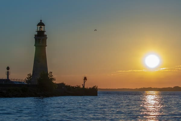 Lighthouse Sunset Photography Art | David Lawrence Reade
