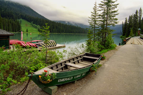 Welcome To Emerald Lake Photography Art   David Lawrence Reade