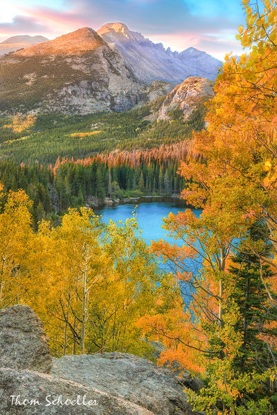 Bear Lake Scenic Overlook | Fine Art Nature Photography & Images of RMNP by Thom Schoeller