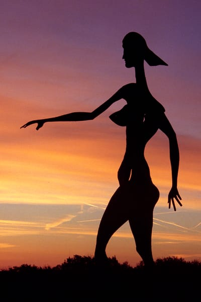 Dancer At Dawn Photography Art | David Lawrence Reade