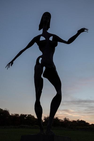 Dancer At Dusk Photography Art | David Lawrence Reade