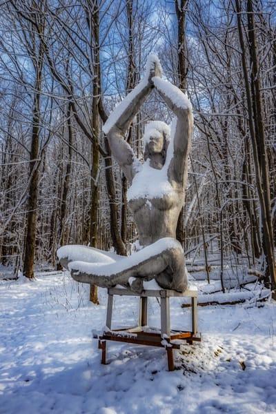 Frozen Yoga Photography Art | David Lawrence Reade