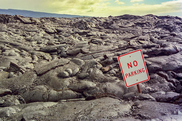 No Parking Photography Art | David Lawrence Reade