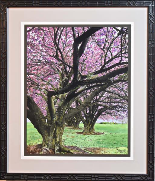 Greg Stett Art Pastels - Spring Flowers