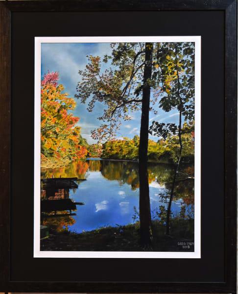 Greg Stett Art Pastels - Fall Colors