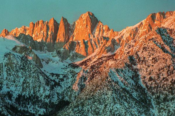 Whitney Sunrise Photography Art | David Lawrence Reade