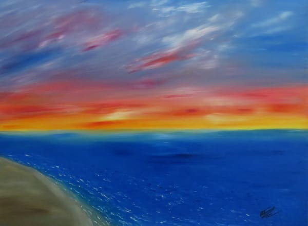 Coastal Sunset Art | Artist Ron Turner