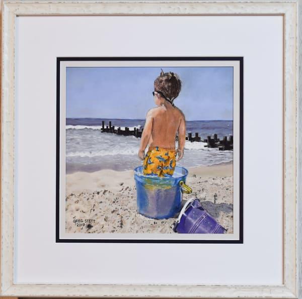 Greg Stett Art Pastels - Toddler