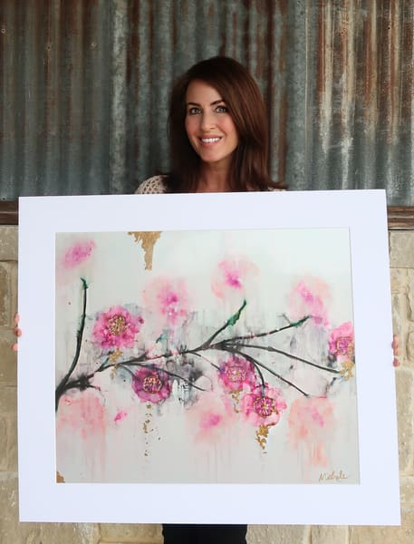 Rosie Posie Print Art   Michele Harmon Art