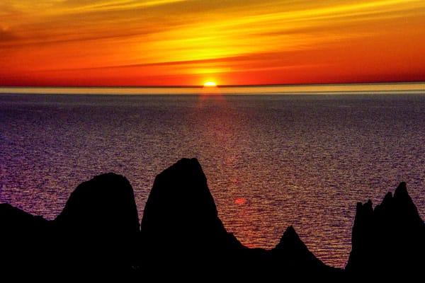Lake Ontario Sunset Photography Art | David Lawrence Reade