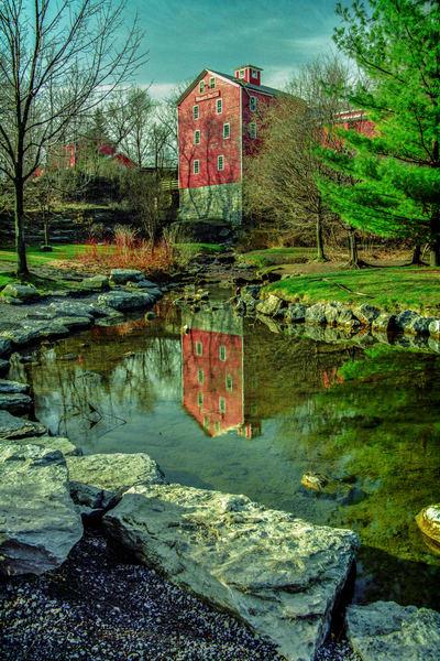 Williamsville Mill Photography Art | David Lawrence Reade