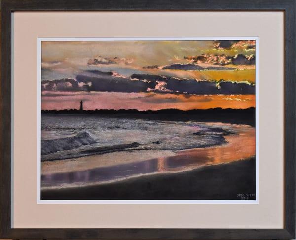 Greg Stett Art Pastels - Sunset