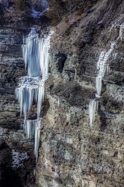 Ice Falls Photography Art | David Lawrence Reade