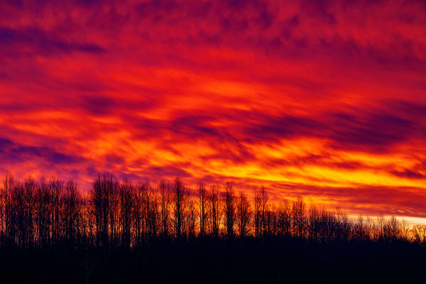 Fire In The Sky Photography Art | David Lawrence Reade