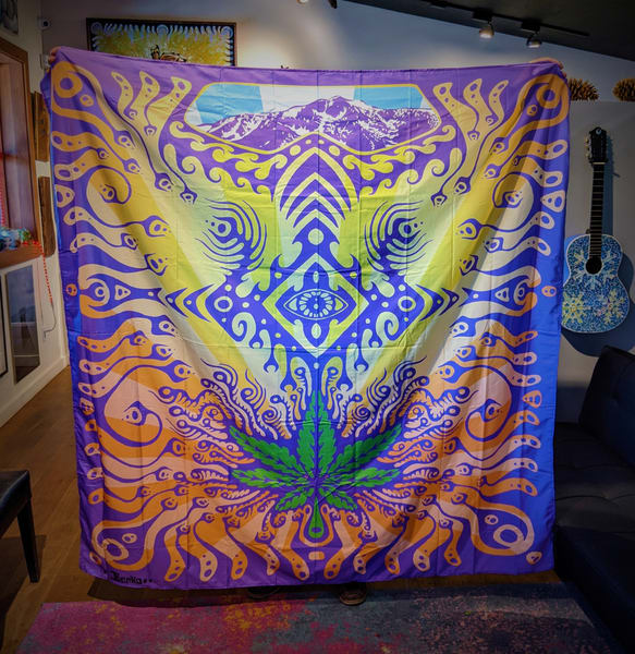Mt Tallac Props Wall Tapestry