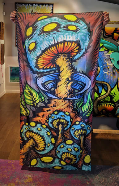 Mother Mushroom Wall Tapestry