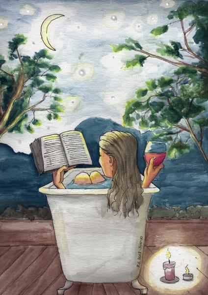 My Retreat   Original Art | Priscila Soares - MyLuckyEars