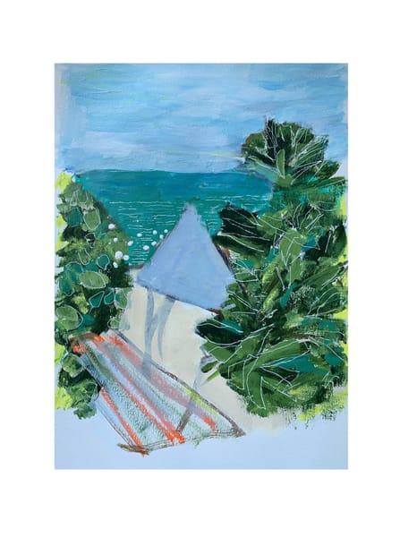 Walline Beach In My Eyes Art | Julie Brown Art
