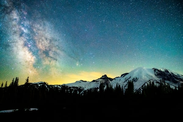 Galaxies At First Light Photography Art | Call of the Mountains Photography