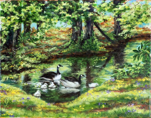 Greenvista Pond Art | Roxana Sinex Art