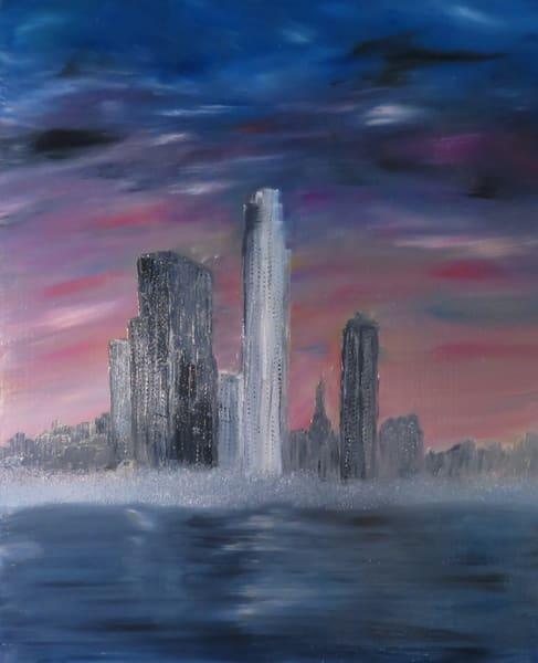 Los Angeles In Pixio Art | Artist Ron Turner
