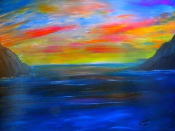 Ocean Sunset Art | Artist Ron Turner