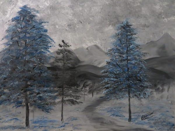 Winter Trail Art | Artist Ron Turner