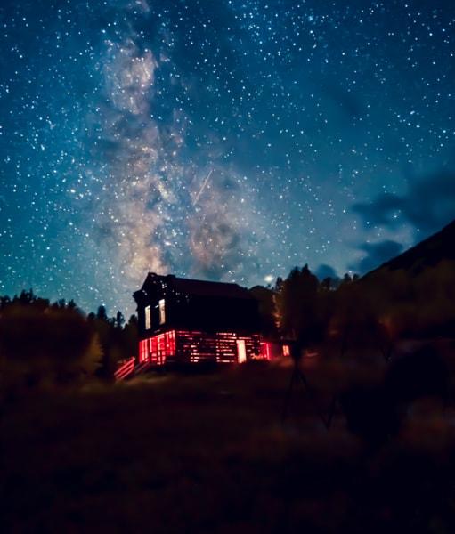 Stars and the Milky Way Colorado