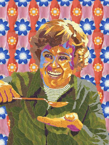 Julia Child Art   smacartist